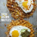 Make hash browns with you waffle maker! They're unbelievably crispy. Recipe on Shutterbean.com !