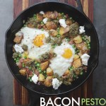Let potato hash become your new obsession with this Bacon Pesto Pea Hash on Shutterbean.com !