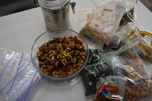 Make your own Trail Mix!