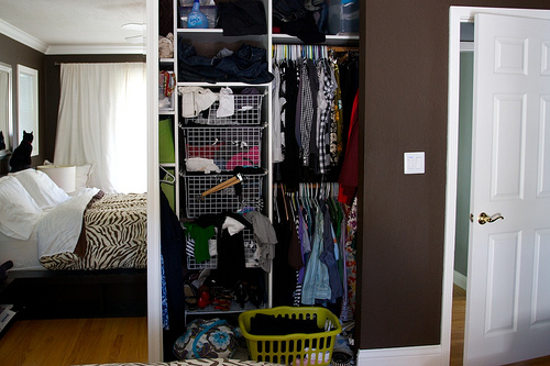 project: organize closet completed!