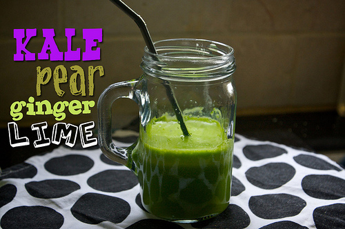 Kale, Pear, Lime & Ginger Juice