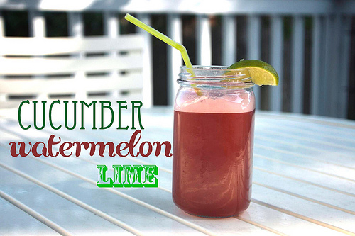 Cucumber Watermelon Lime Juice