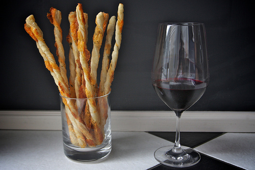 Herbed Cheese Straws