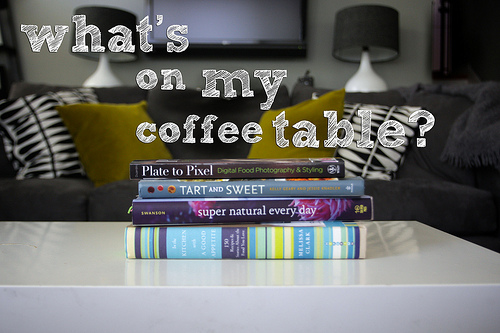 What's on my coffee table?!