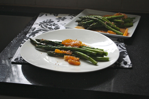 Asparagus & Orange Salad