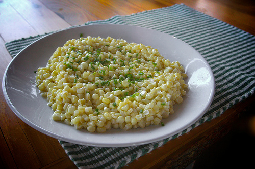 Creamed Summer Corn