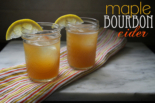 Maple Bourbon Cider - Shutterbean