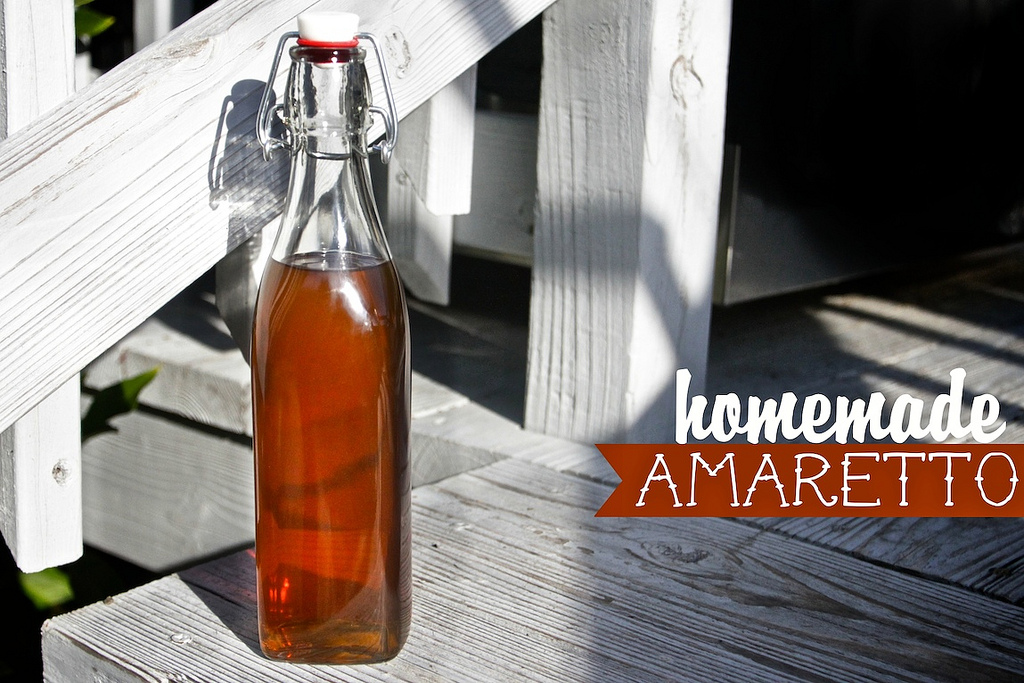Homemade Amaretto
