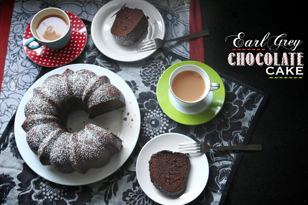 Earl grey chocolate cake recipe