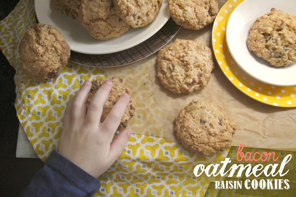 Bacon Oatmeal Raisin Cookies - Shutterbean
