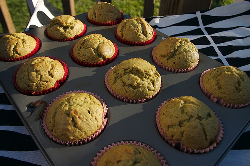 Green Tea Cupcakes for Kevin