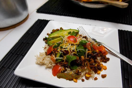 Quick Mexican Stir Fry!