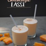 If you've got a surplus of cantaloupe, cut it up and pop it in the freezer. You'll be seconds away from Cantaloupe Lassis! Check out the recipe on Shutterbean.com!
