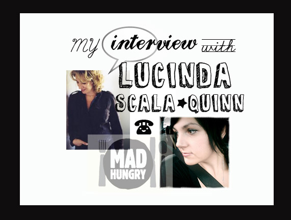My Interview with Lucinda Scala Quinn