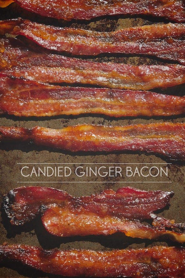 Candied Ginger Bacon