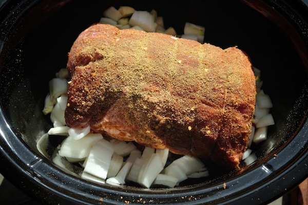 Slow Cooker Pulled Pork // shutterbean