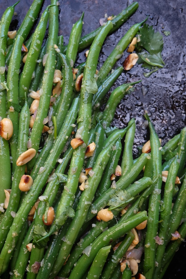 Green Beans with Ginger & Lime