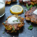 Check out the recipe for the most delicious Zucchini Herb Fritters with Garlic Yogurt Dip on Shutterbean.com!