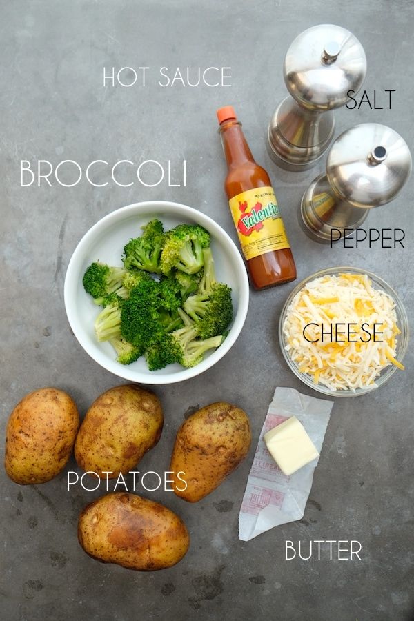 Twice Baked Broccoli Cheddar Baked Potatoes // shutterbean