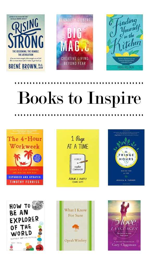 Books to Inspire - a collection of books that will help inspire you creatively!  Find them on Shutterbean.com