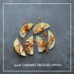 Caramel Drizzled Apples // shutterbean