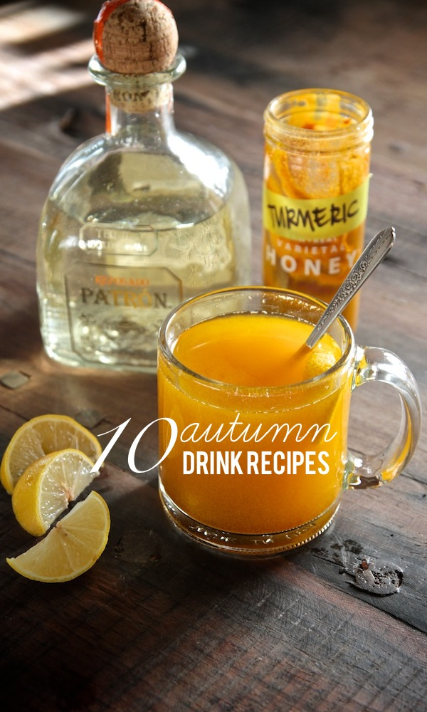 10 Autumn Drink Recipes! Find them all on Shutterbean.com