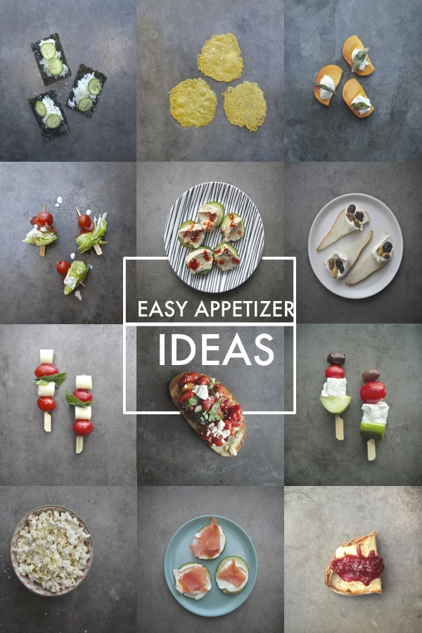 A collection of Easy Appetizer Ideas can be found at Shutterbean.com!