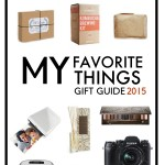 Shutterbean Favorite Things Gift Guide 2015