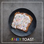 Fairy Toast made with makeshift cream cheese frosting. Find it on Shutterbean.com!