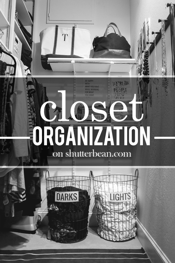 Around the Home: Closet Organization