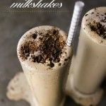 Spiked Coffee Milkshakes made with Humboldt Creamery Ice Cream. Find the recipe on Shutterbean.com