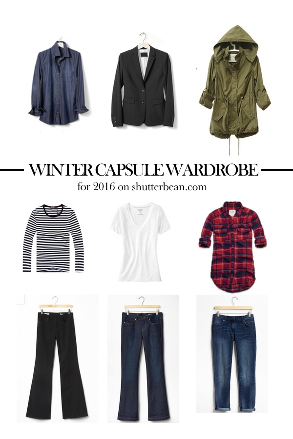 cheap capsule wardrobe 2