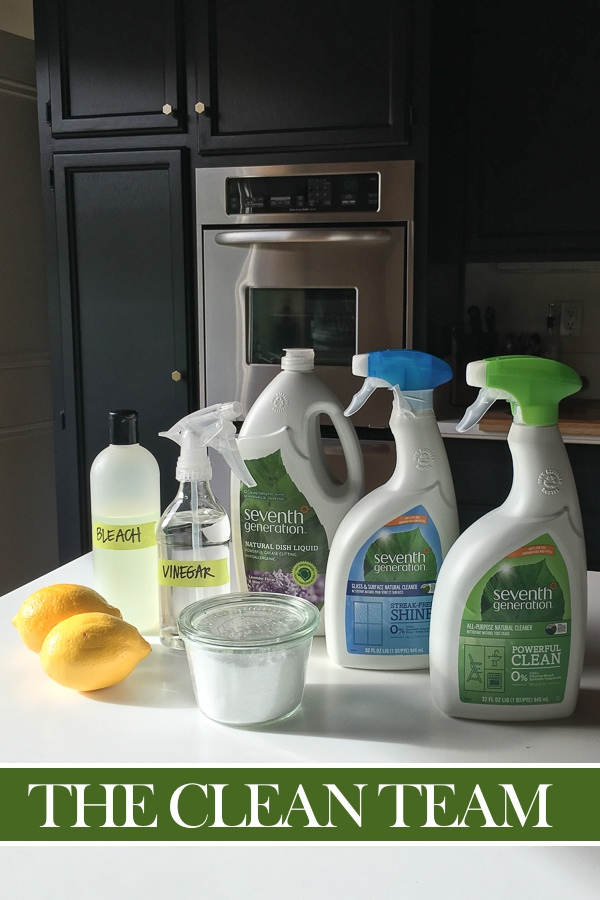 Kitchen Spring Cleaning with Seventh Generation on Shutterbean.com!