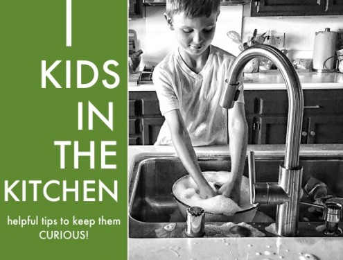 Helpful ideas to get Kids in the Kitchen on Shutterbean.com. Get them curious & engaged!