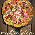 Turn the classic muffaletta sandwich into a pizza with this Muffaletta Pizza. Find the recipe on Shutterbean.com!