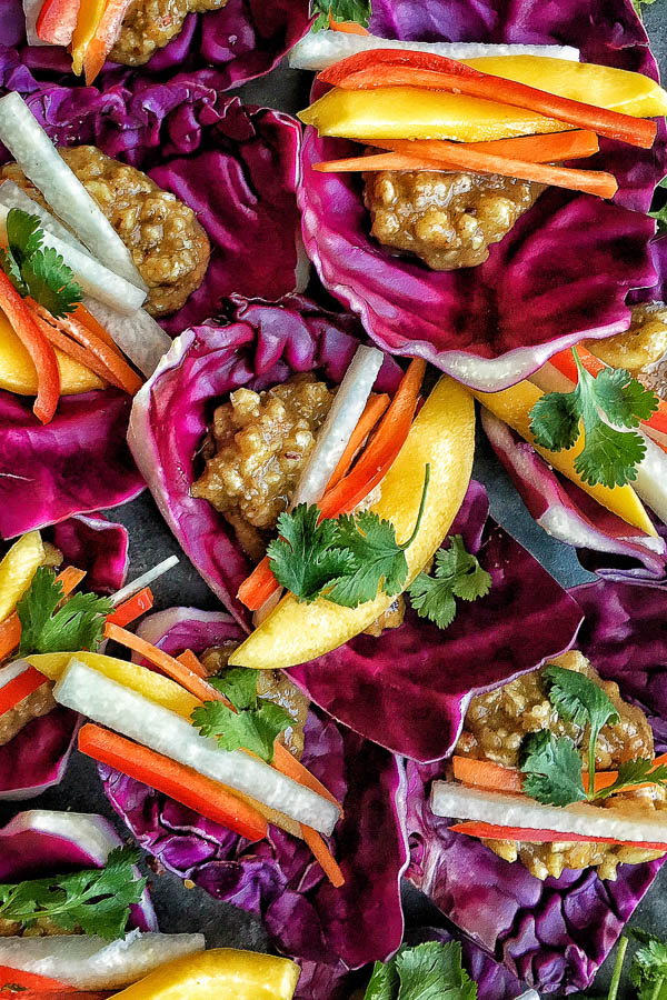 A mostly raw, totally vegan recipe that's incredibly satisfying. Find the recipe for these Spicy Mango Chile Wraps on Shutterbean.com!