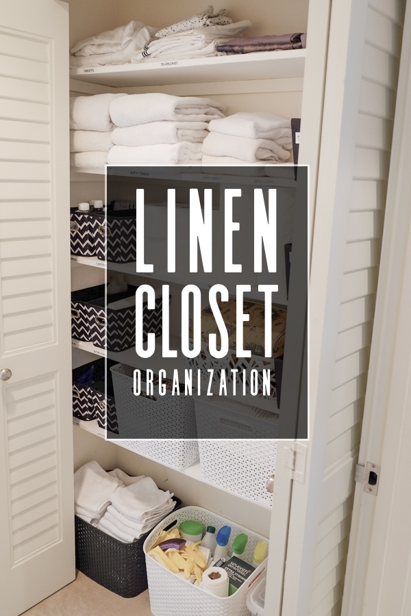 Linen Closet Organization! See more on Shutterbean.com