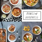 Bowls of Goodness! A roundup of hearty, comforting food best eaten out of a bowl. More on Shutterbean.com