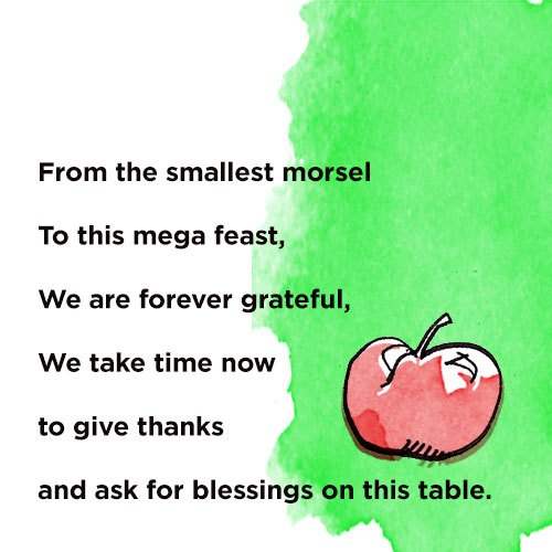16 Ways to Say Grace! A collection of pre-meal grace inspiration by Helen Jane Hearn on Shutterbean.com!
