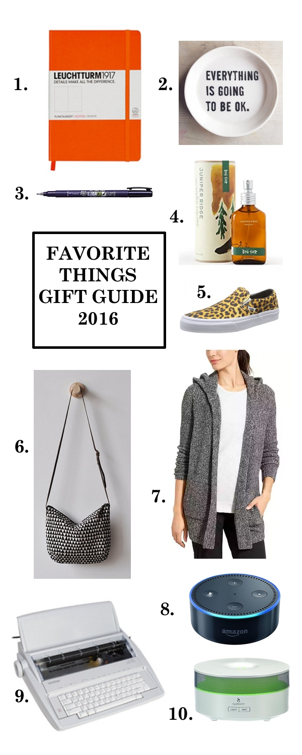 Tracy from Shutterbean shares her Favorite Things Gift Guide for 2016 on Shutterbean.com!