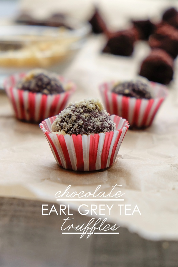 Chocolate Earl Grey Tea Truffles