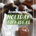 A collection of Homemade Holiday Gift Ideas from the Shutterbean archives. Happy gift giving!