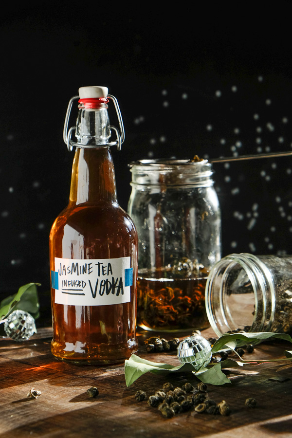 Jasmine Tea Infused Vodka