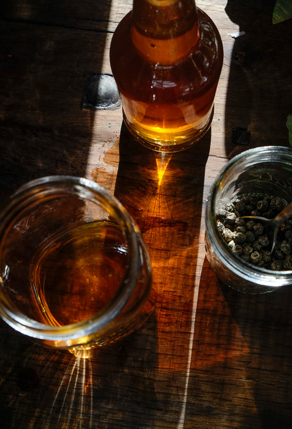 Jasmine Tea Infused Vodka to up your spirit game. Find the recipe on Shutterbean.com!
