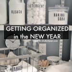 Getting Organized in the New Year. See how Tracy from Shutterbean does it!