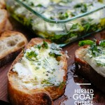 For an easy appetizer, try Herbed Goat Cheese. Recipe on Shutterbean.com