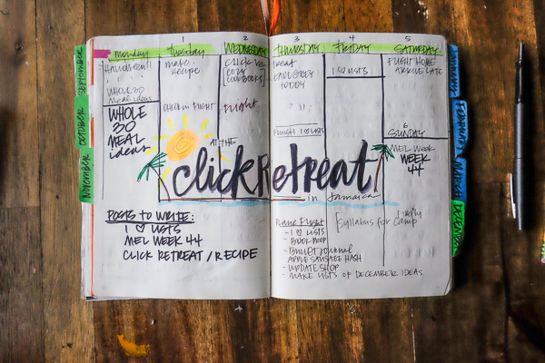 Bullet Journal Layout Ideas - see more on Shutterbean.com!