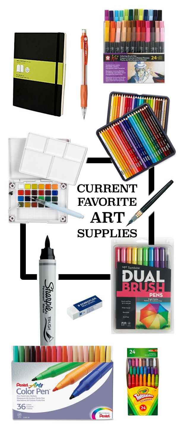 If you're looking to add some fun into your creative routine check out Tracy's Current Favorite Art Supplies on Shutterbean.