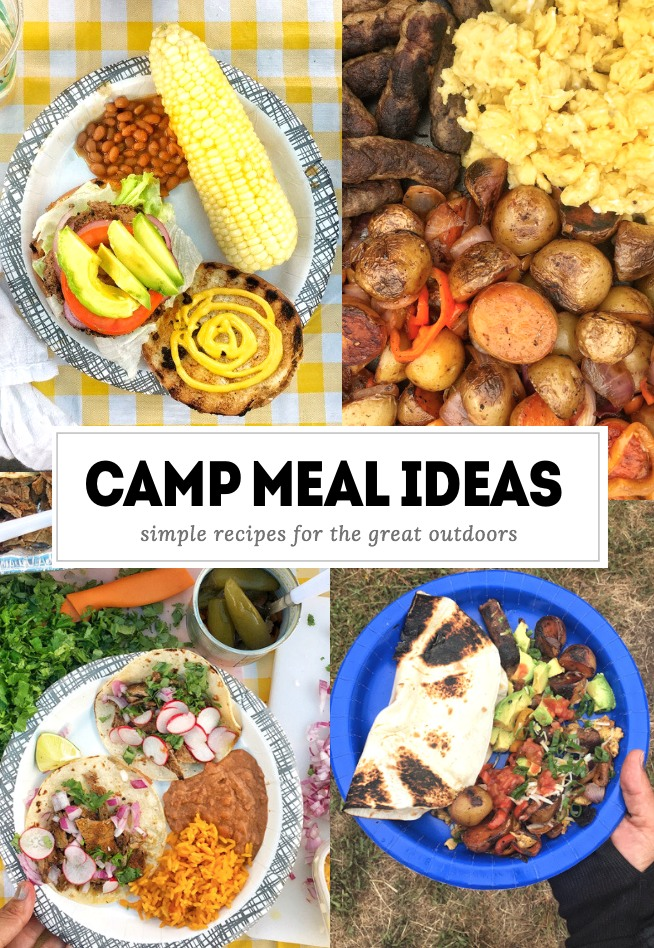 Camp Meal Ideas