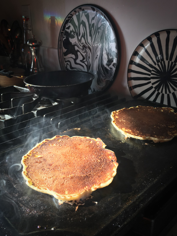 Everyday Pancakes are simple enough to make EVERYDAY. Find the recipe on Shutterbean.com!